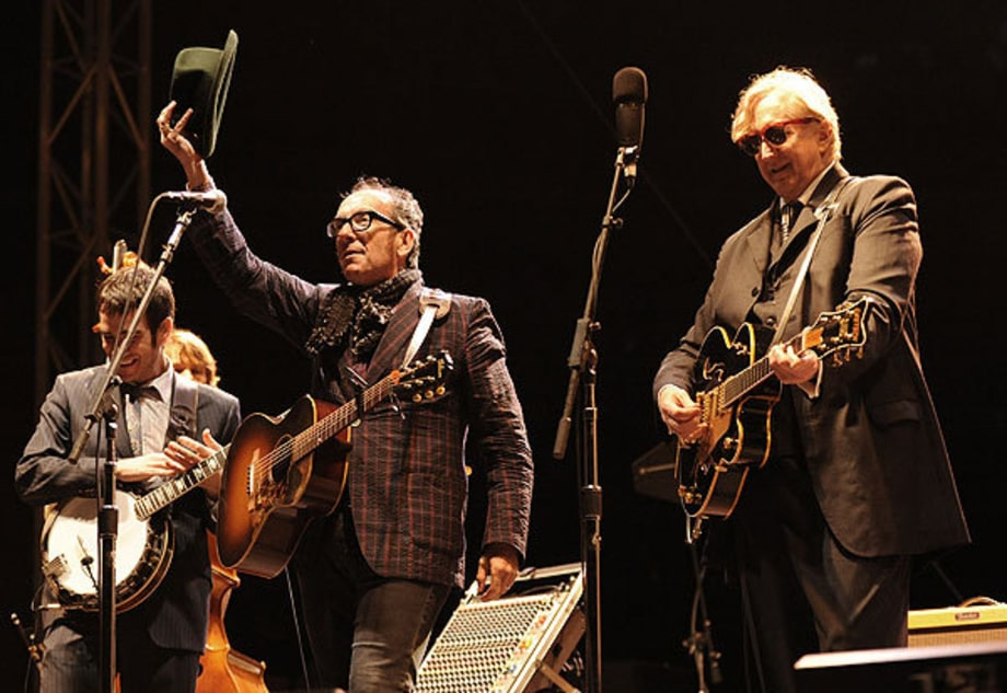 Elvis Costello and T Bone Burnett