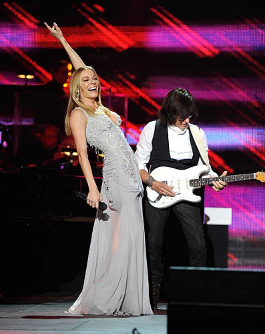 LeAnn Rimes and Jeff Beck