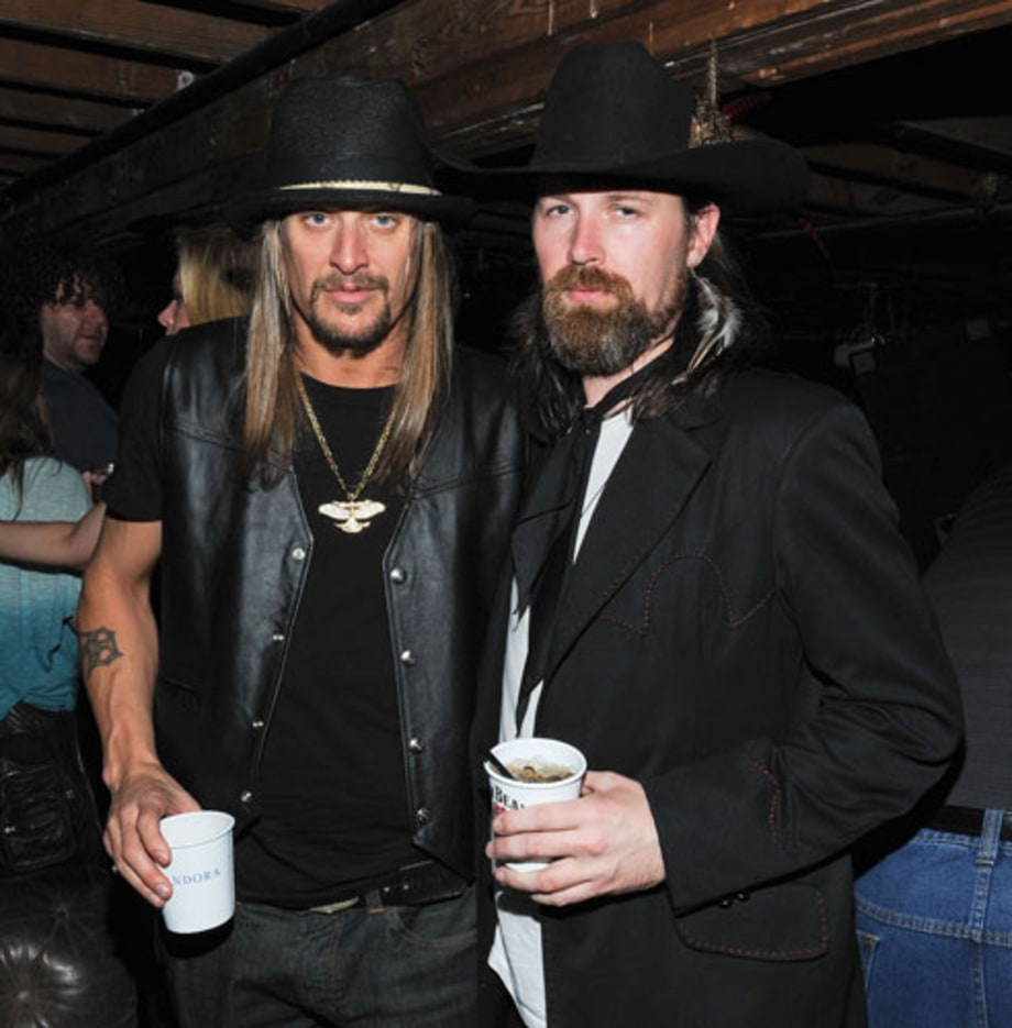 Kid Rock and Leroy Powell