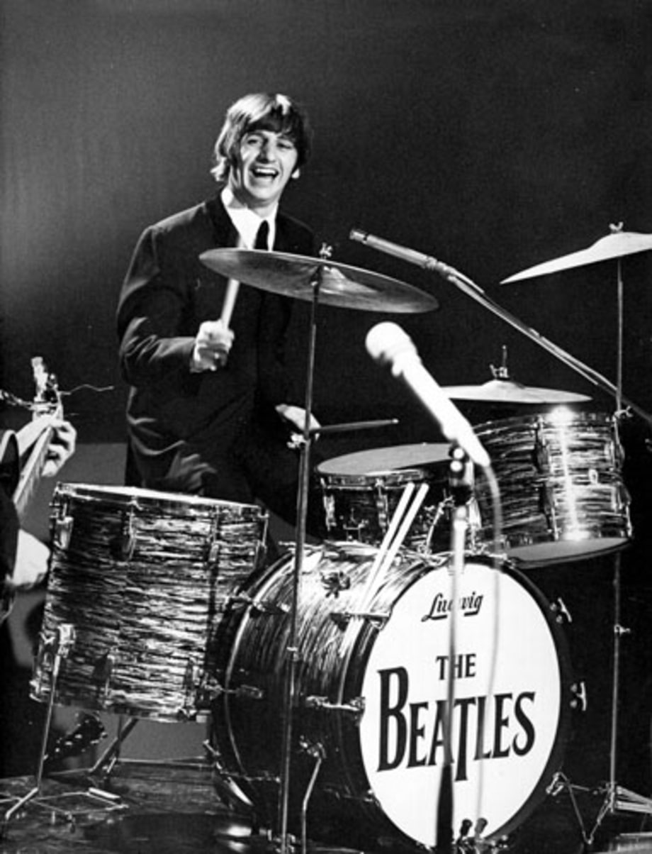 On Ringo Starr - Modern Drummer Magazine |Ringo Starr Drums