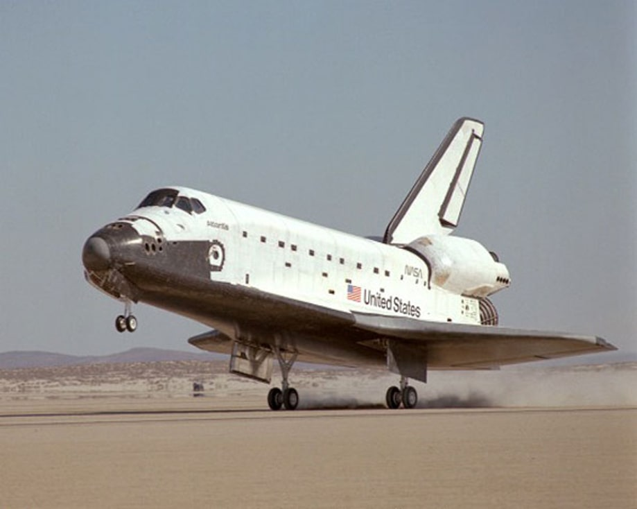 Atlantis' Maiden Flight
