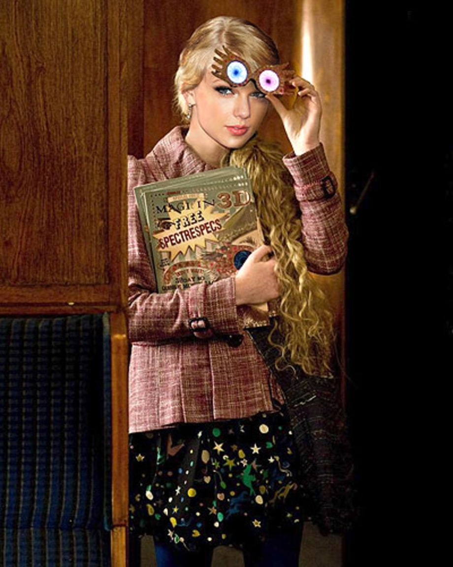 Taylor Swift (Luna Lovegood)
