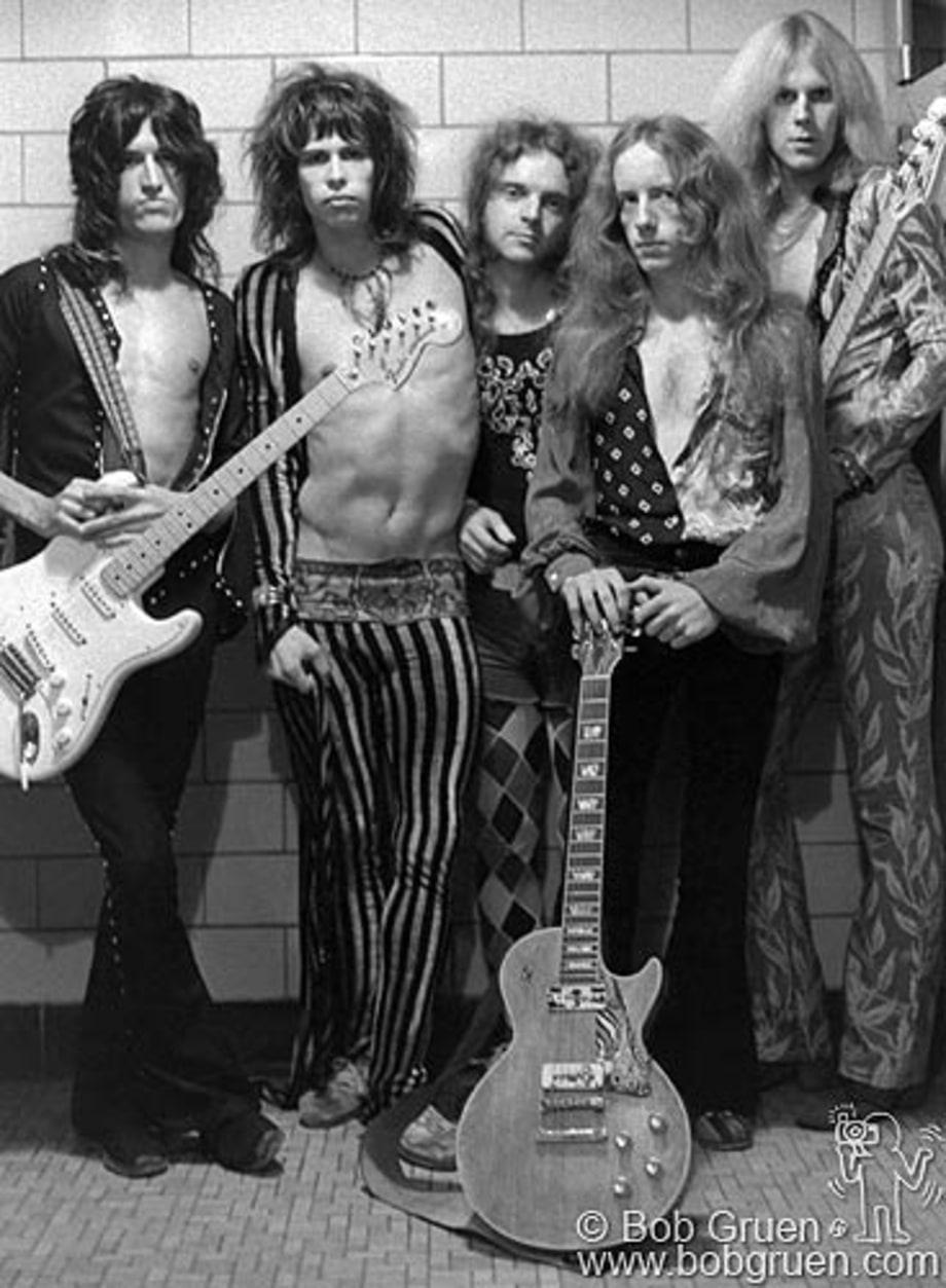 Aerosmith Rock Seen A New Book By Legendary