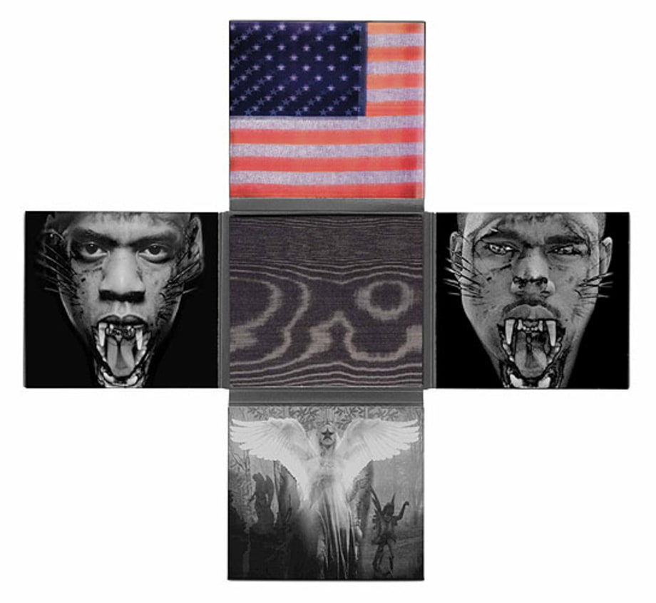 'Watch The Throne' Inside Artwork