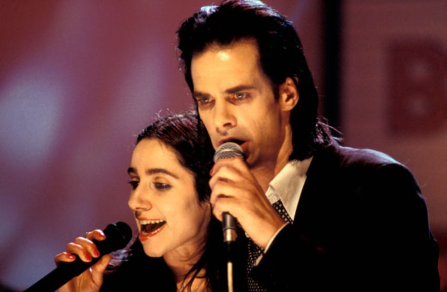 PJ Harvey and Nick Cave