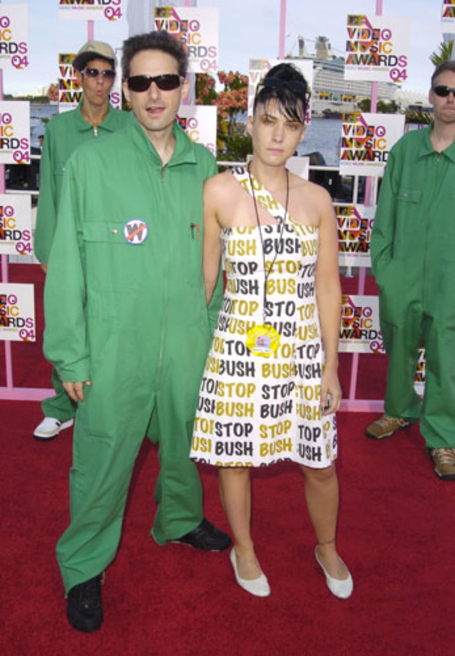 Adam Horovitz and Kathleen Hanna