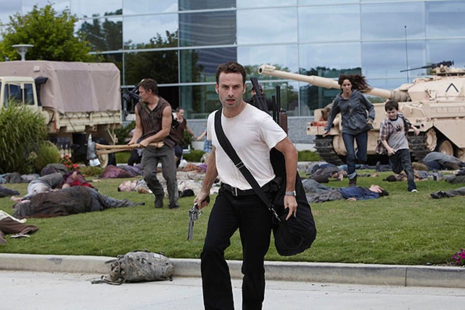 Andrew Lincoln as Sheriff Rick Grimes - 'The Walking Dead'