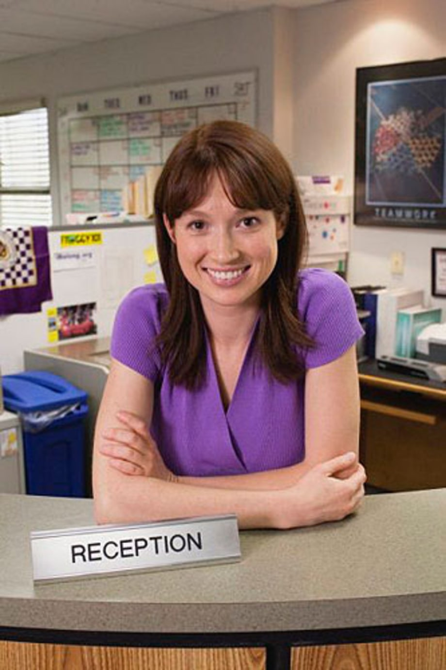 Ellie Kemper as Erin Hannon - 'The Office'