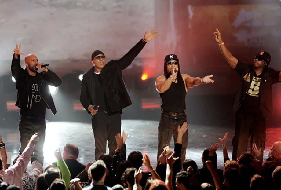 Common, LL Cool J, Melle Mel and Scorpio