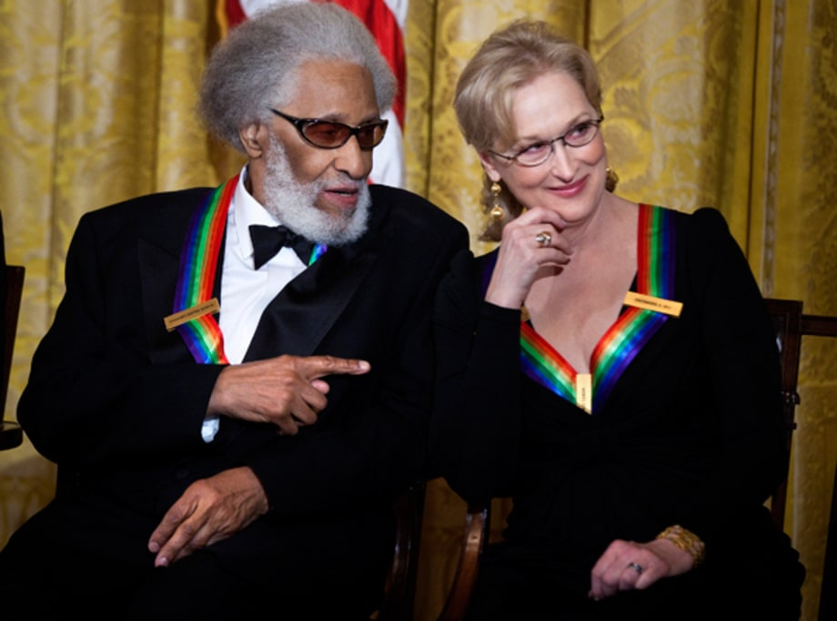 Sonny Rollins and Meryl Streep