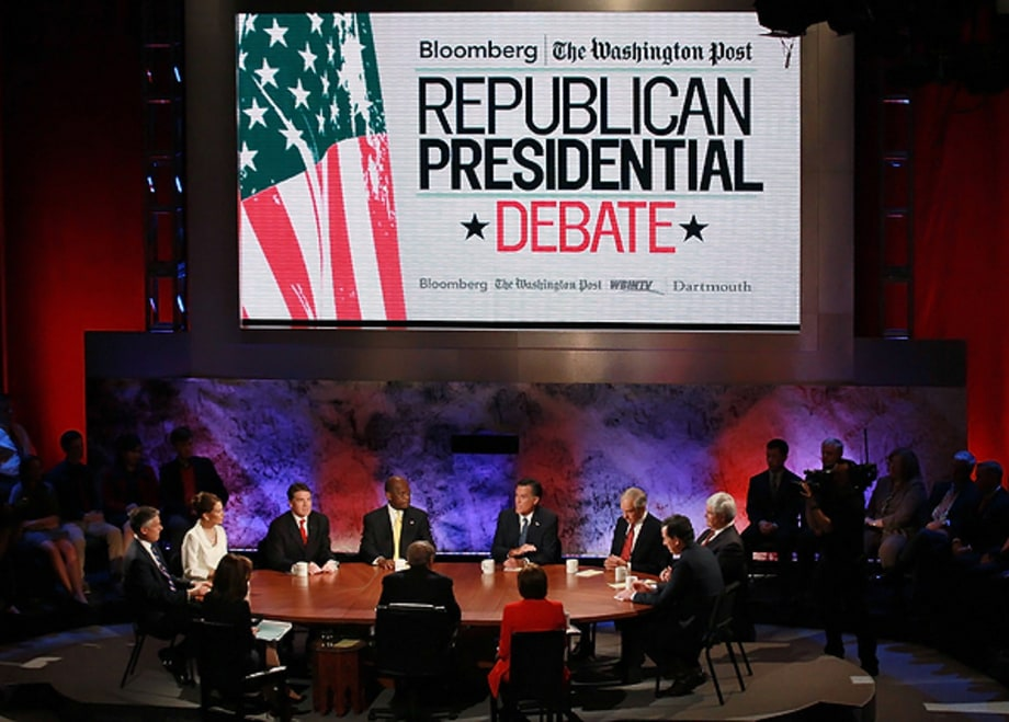 10. GOP Debates: Reality Show of the Year