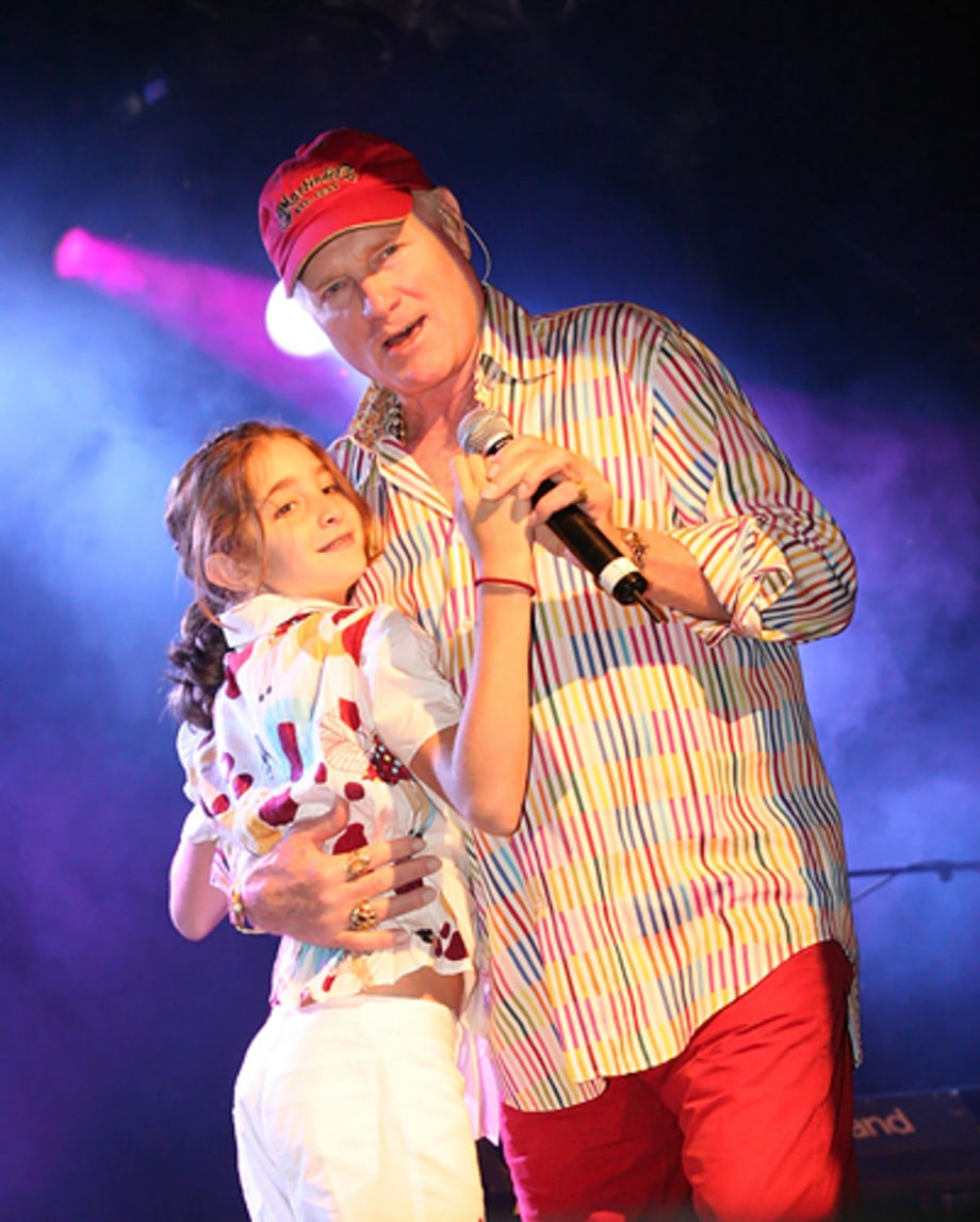Mike Love And His Daughter