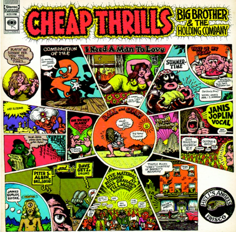 'Cheap Thrills,' Big Brother & the Holding Company