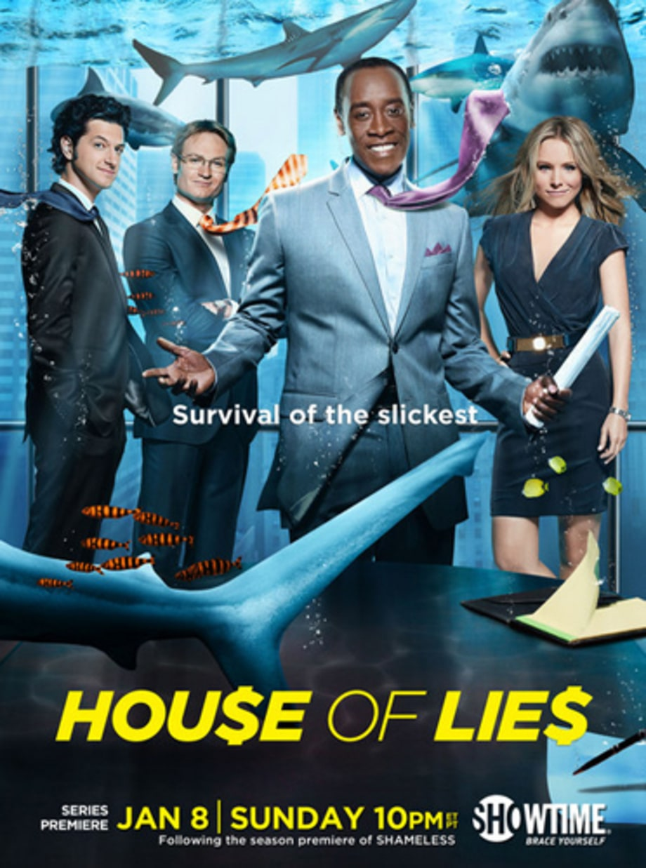 'House of Lies' (Showtime, 1/8)