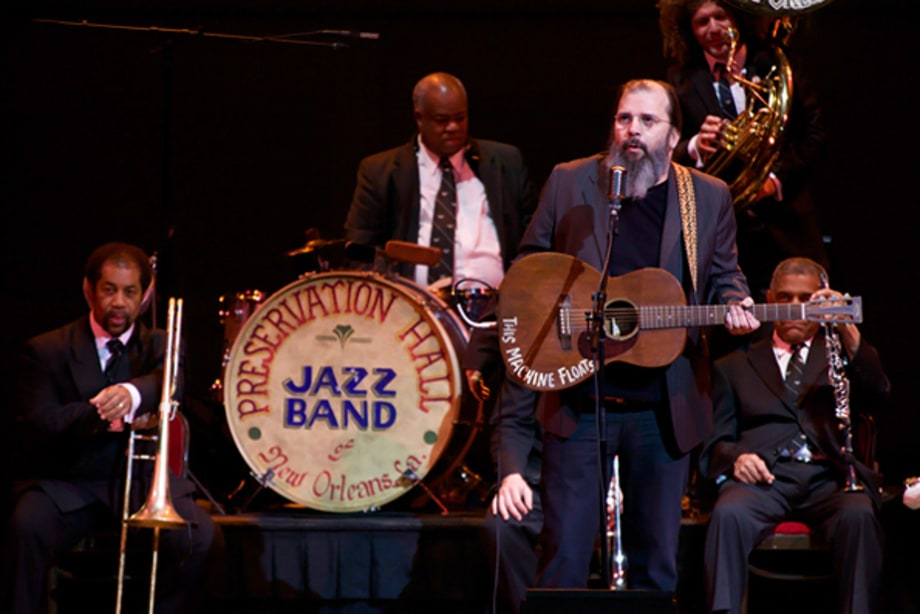 The Preservation Hall Jazz Band with Steve Earle