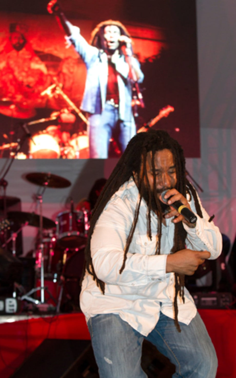 KyMani Marley Plays During Reggae Month