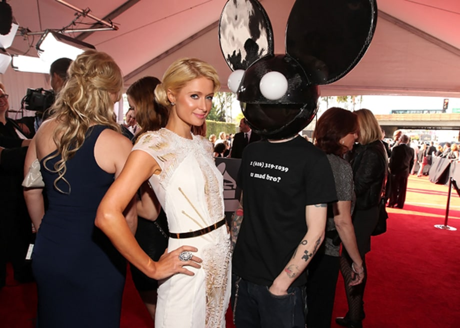 Paris Hilton and Deadmau5