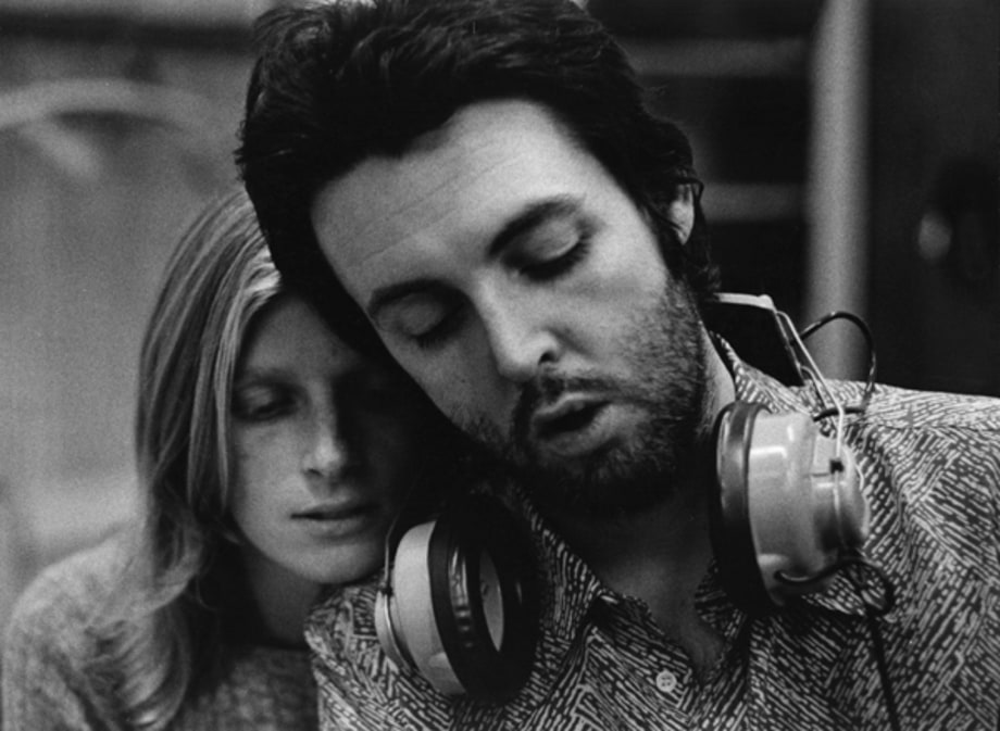 Paul McCartney and Linda