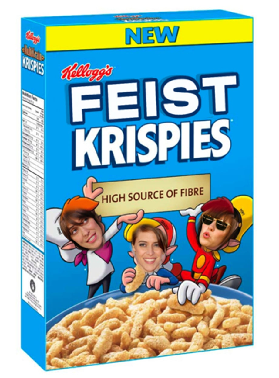 Feist Krispies