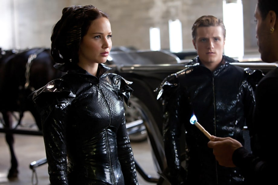 Katniss, Peeta and Cinna