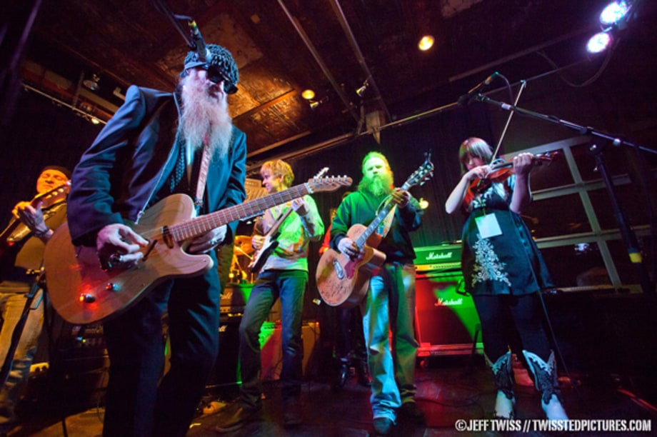 Billy Gibbons and his All Star Band