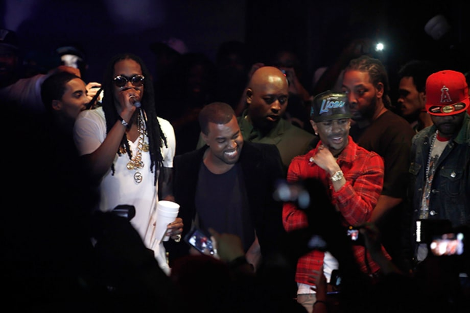Kanye West, Big Sean and 2 Chainz