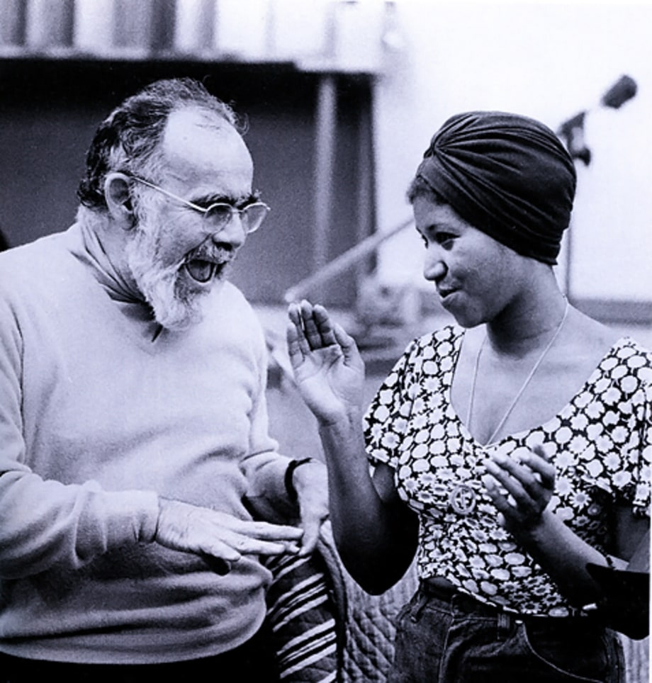 With Jerry Wexler (1960s)
