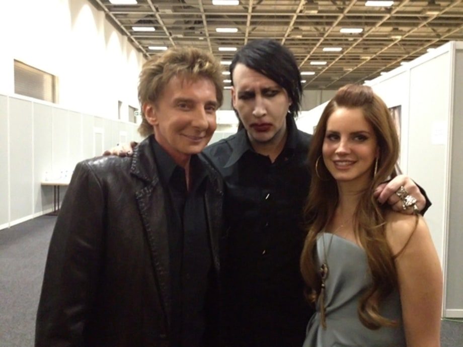 Barry Manilow, Marilyn Manson and Lana del Rey