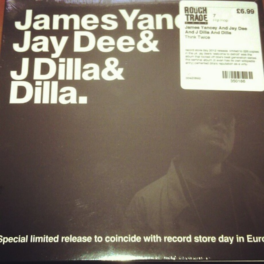 J Dilla's European Release for Record Store Day