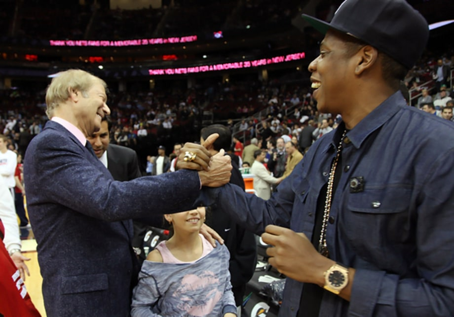 Jay-Z's Nets' Last Game in New Jersey