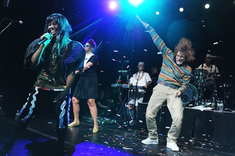 Santigold and Samberg