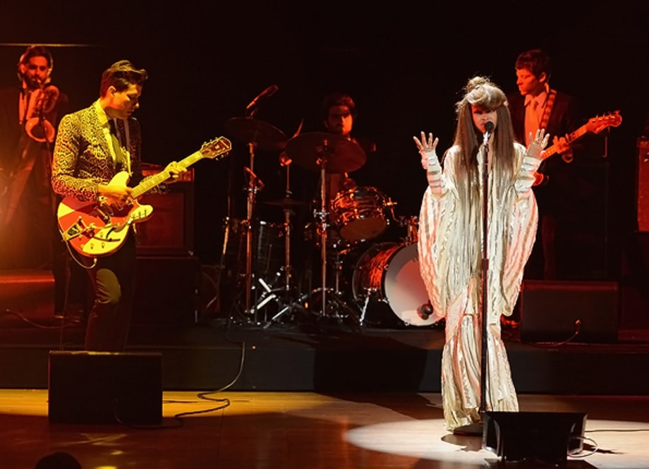 Mark Ronson and Erykah Badu