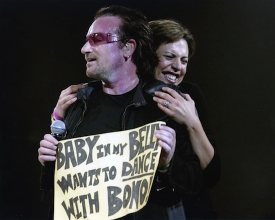 Bono and a Belly Dance