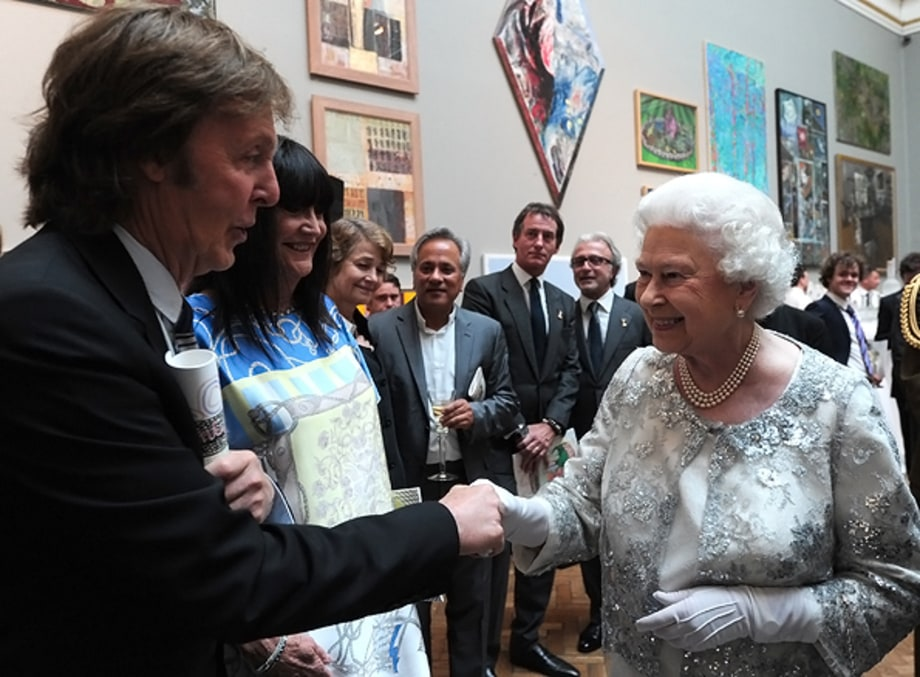 Paul and The Queen