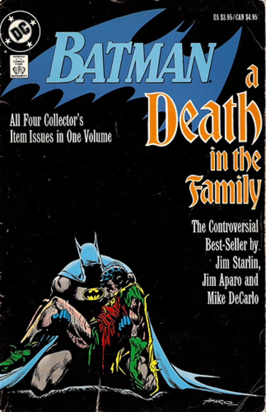 7. 'Batman: A Death in the Family'
