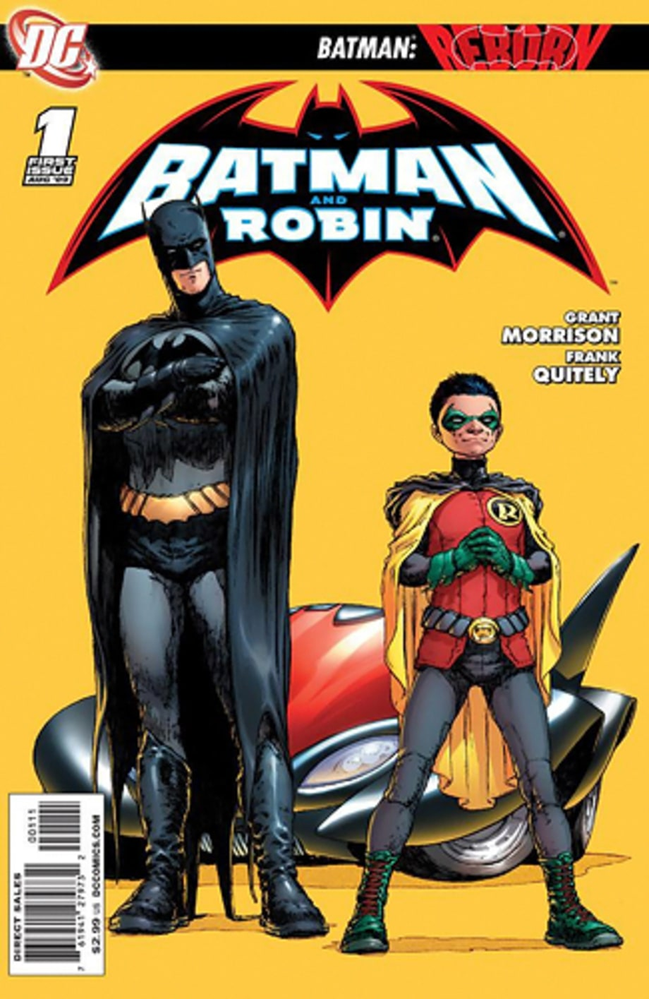 13. 'Batman and Robin Vol. 1: Batman Reborn'