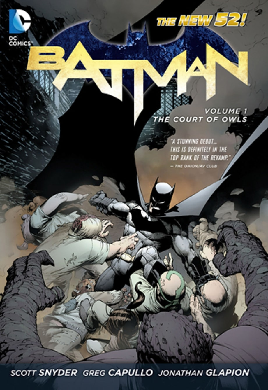 15. 'Batman Vol. 1: The Court of Owls'