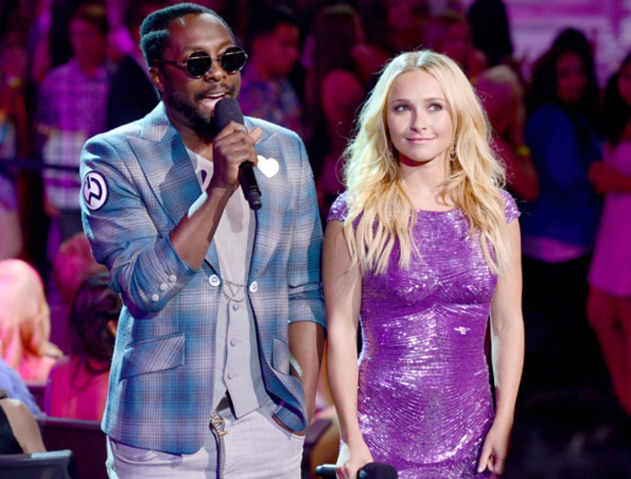 Will.i.am and Hayden Panettiere