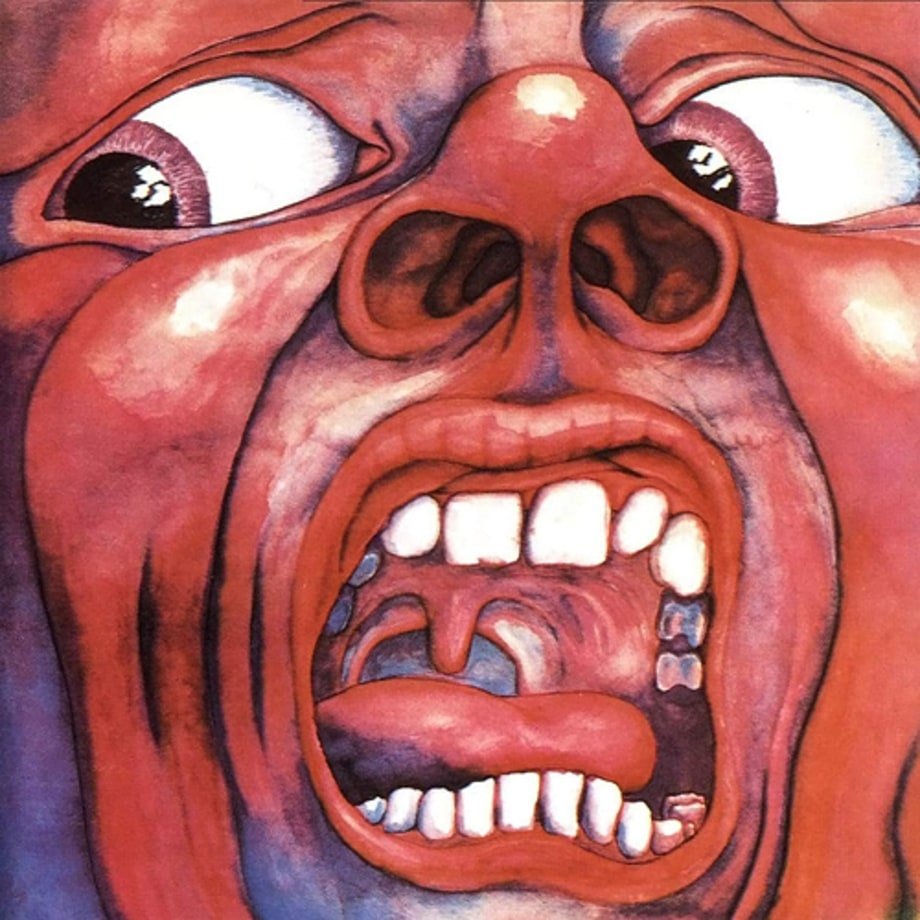 6. King Crimson -  'In the Court of the Crimson King'