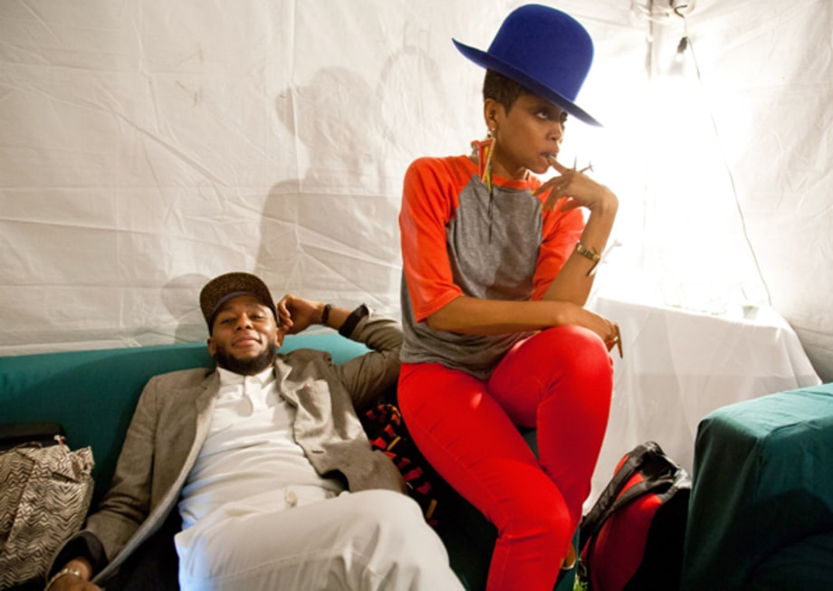 Erykah Badu and Mos Def