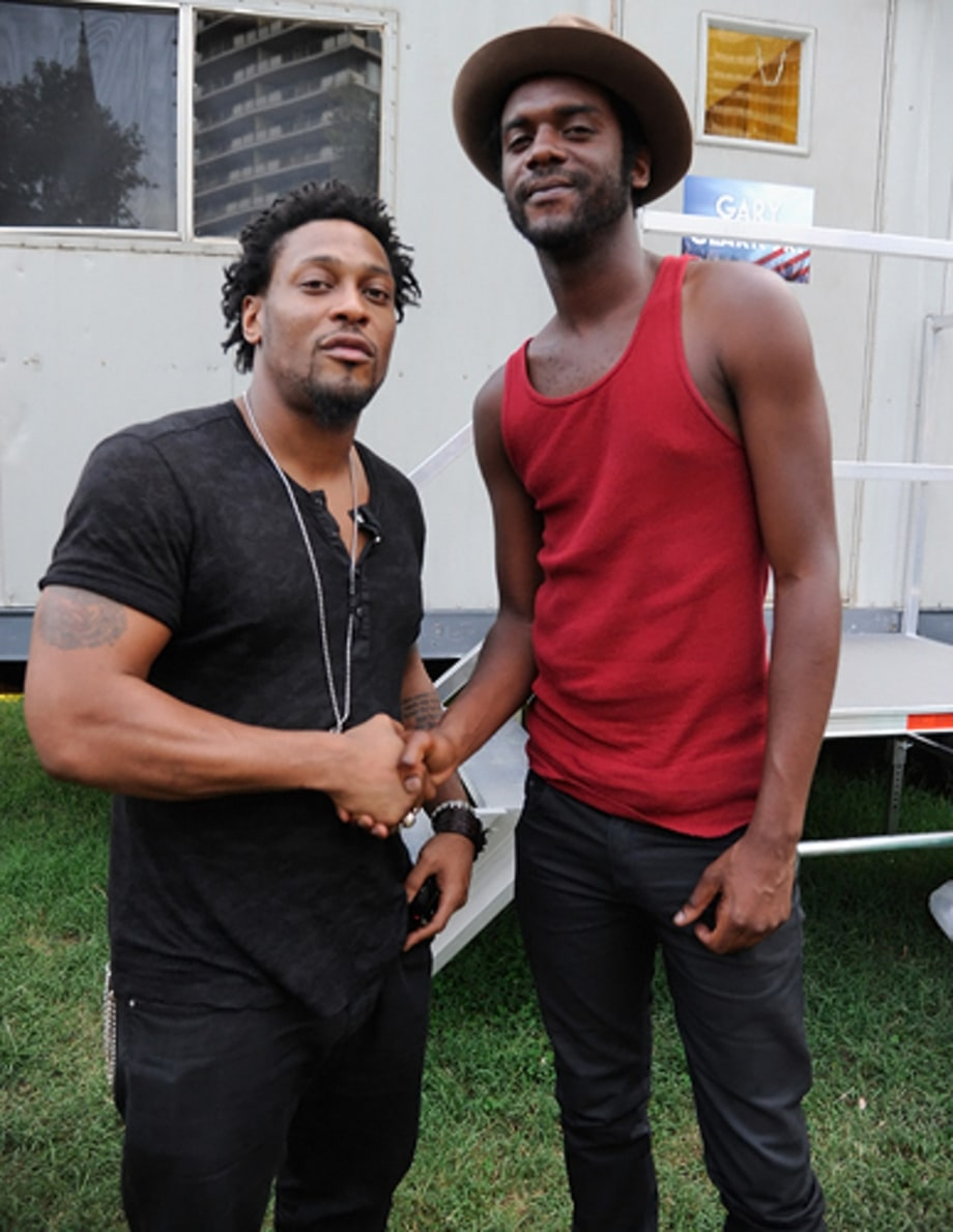 D'Angelo and Gary Clark Jr.