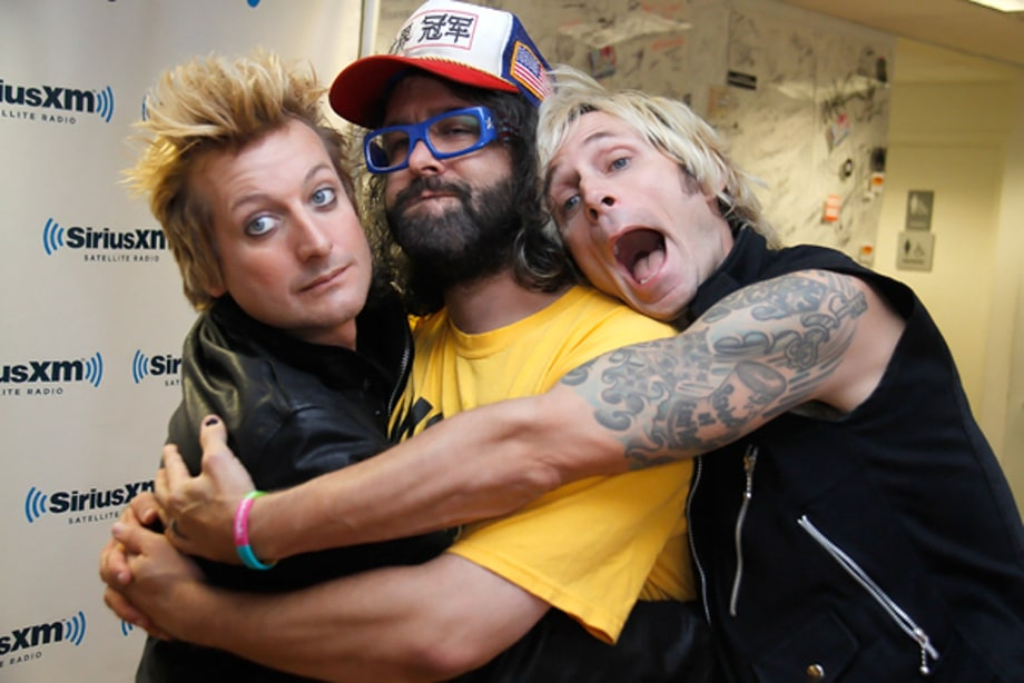A Green Day Sandwich