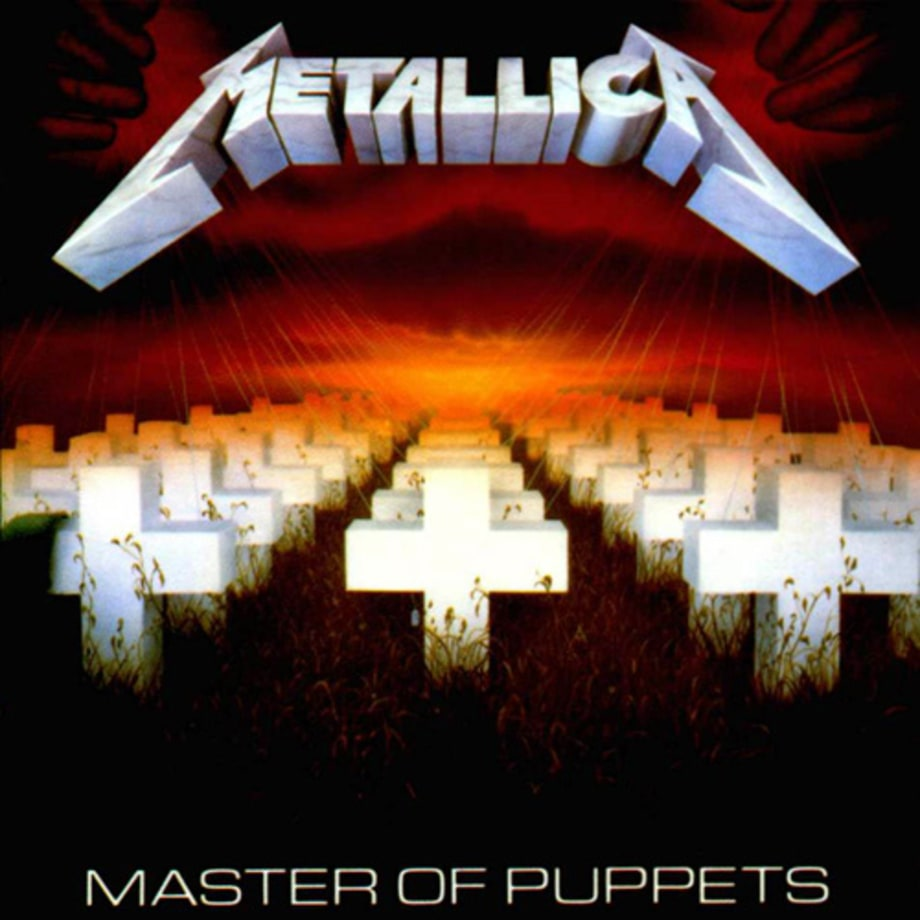 1. Metallica - 'Master of Puppets'