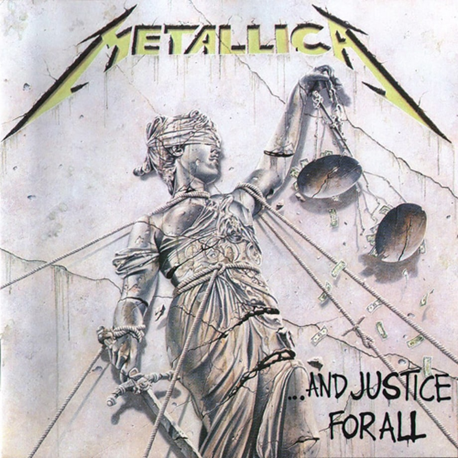 5. Metallica - '. . . And Justice for All'