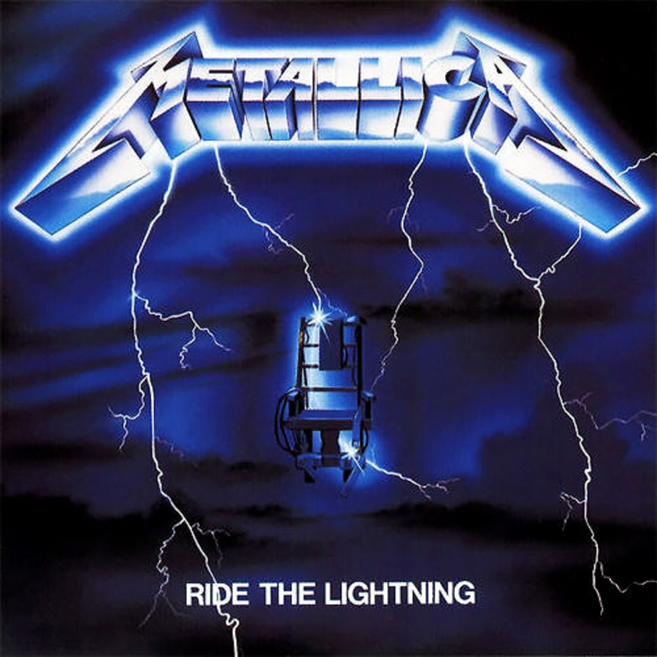 10. Metallica - 'Ride the Lightning'