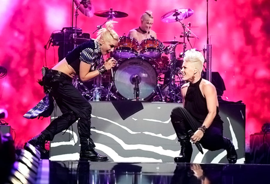 Gwen and Pink