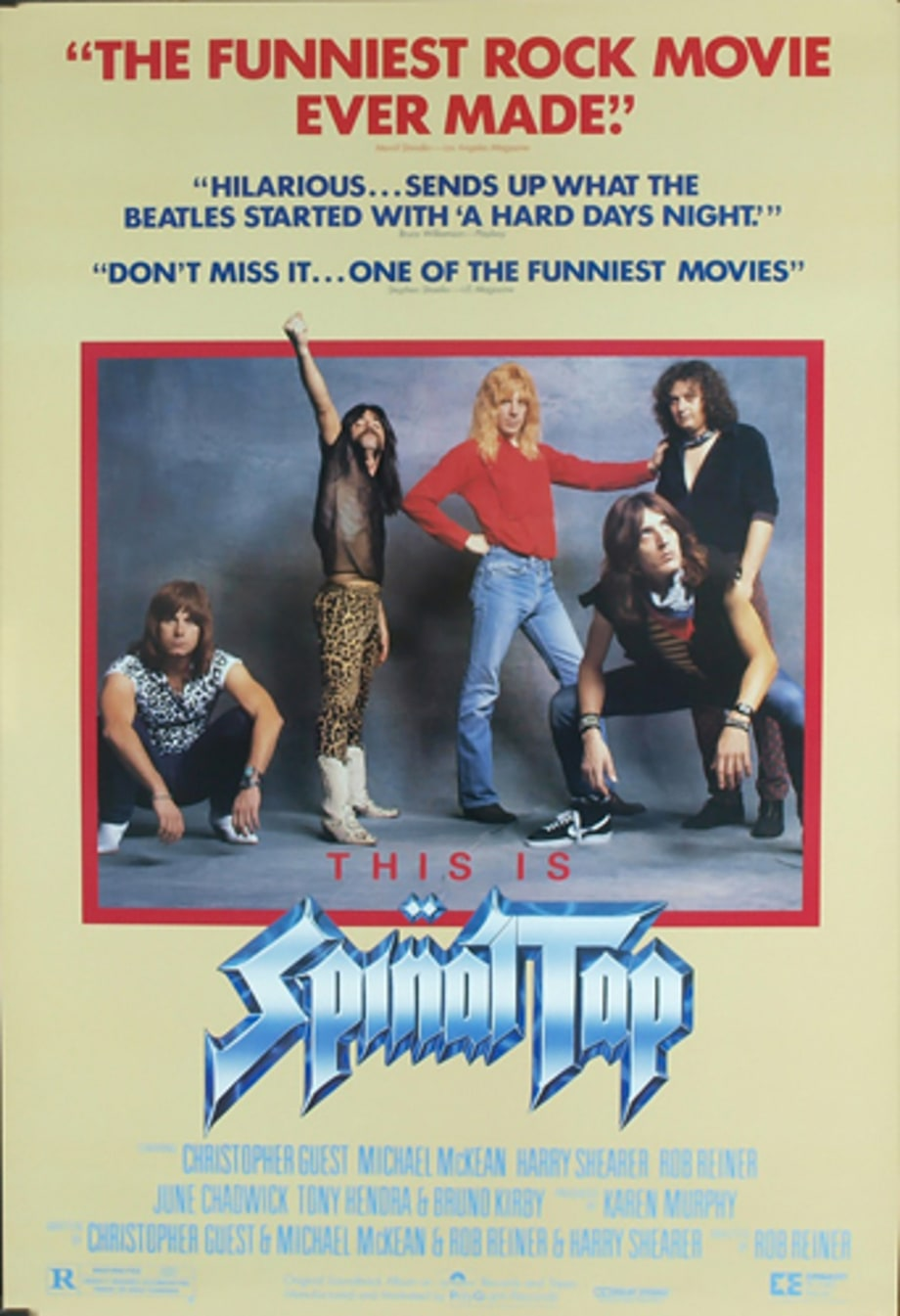 3. 'This Is Spinal Tap'