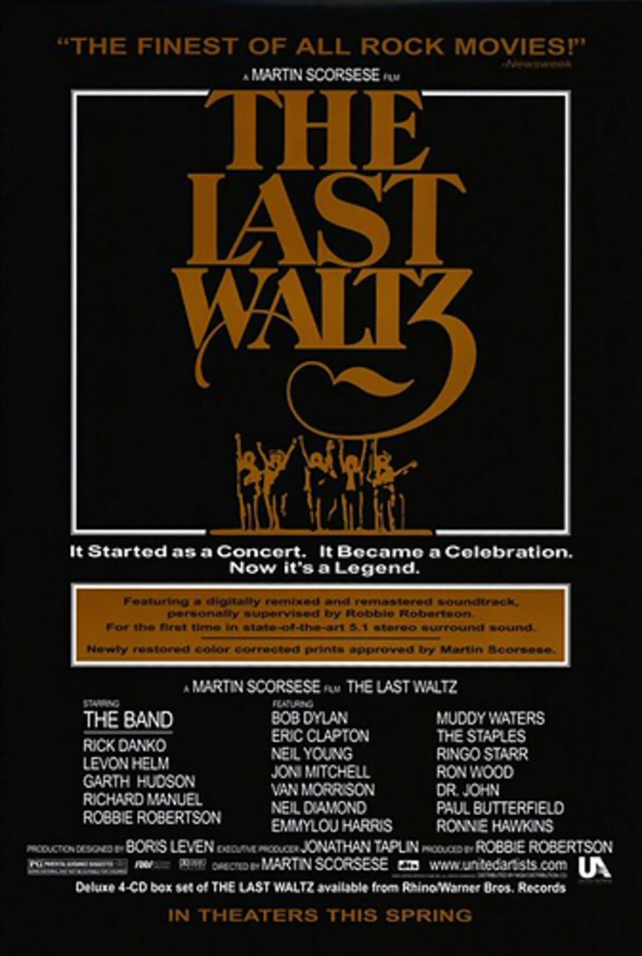 1. 'The Last Waltz'