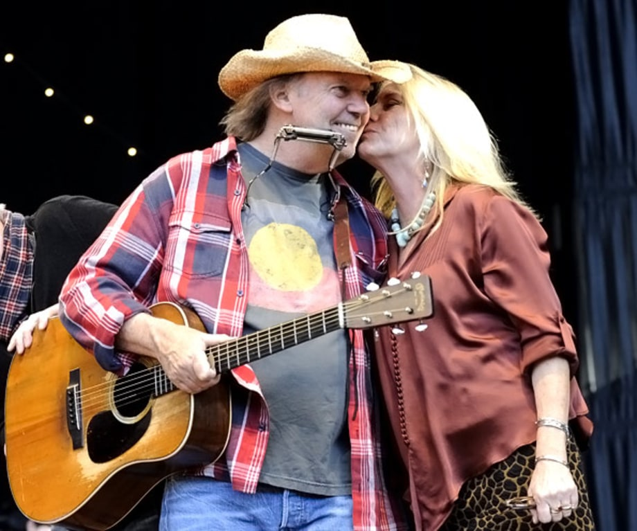 Neil Young and Pegi Young