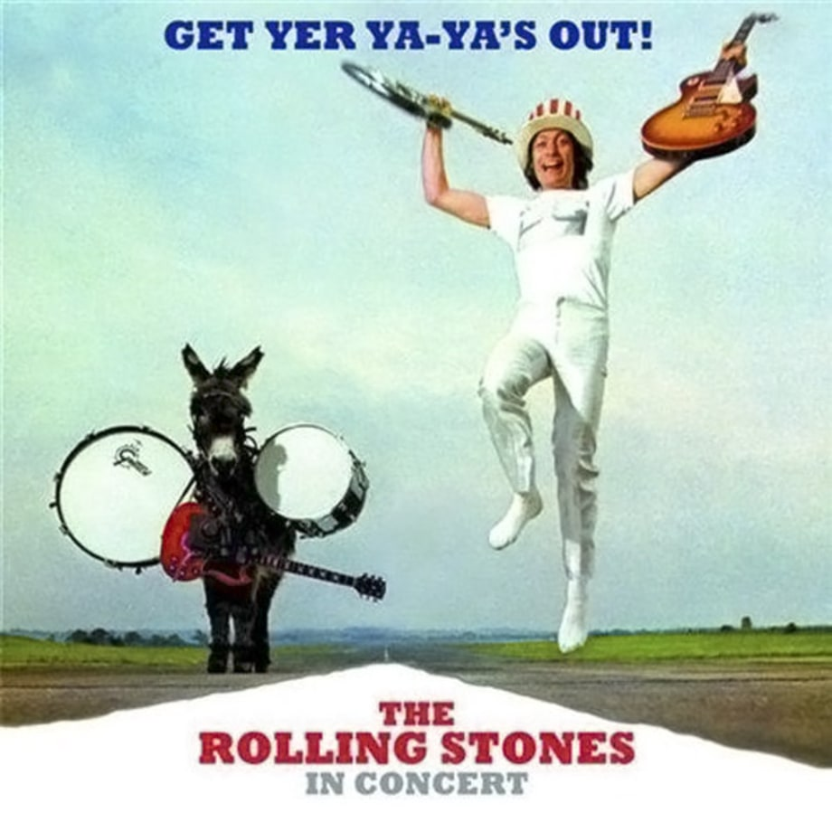 4. The Rolling Stones - 'Get Yer Ya-Ya's Out!'